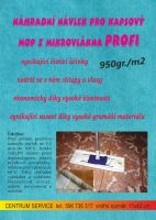 Návlek mopu kapsový Profi 950gr./m2