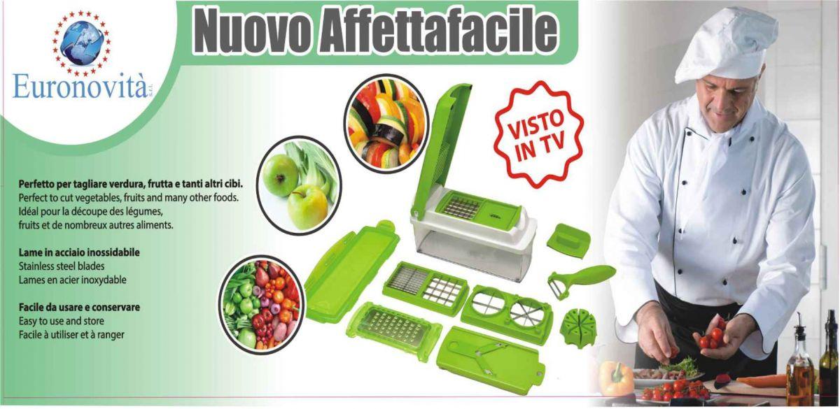 Revoluční Multifunkční kráječ zeleniny Plus Euro Novita