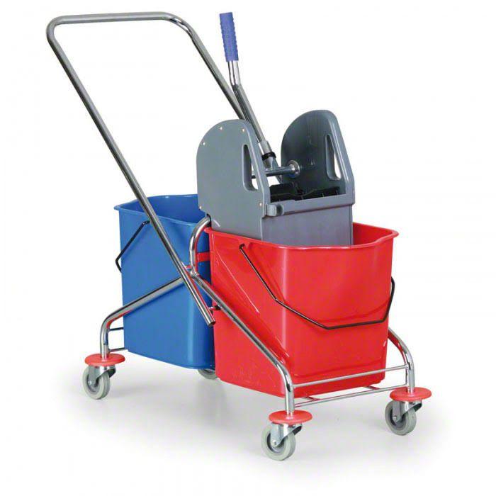 """Úklidový vozík """"Duo Standard"""" se 2 kbelíky Centrum Service"""